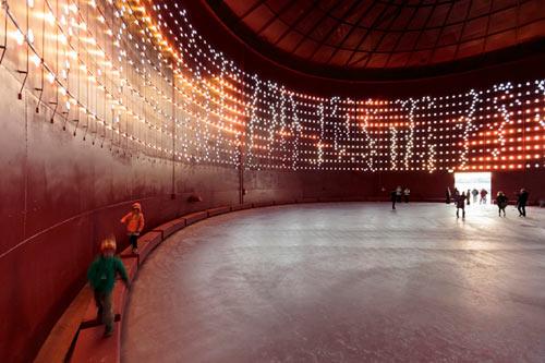 SILO 468: Interactive Light Art for Urban Redevelopment
