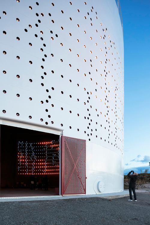 SILO 468: Interactive Light Art for Urban Redevelopment in technology art architecture  Category