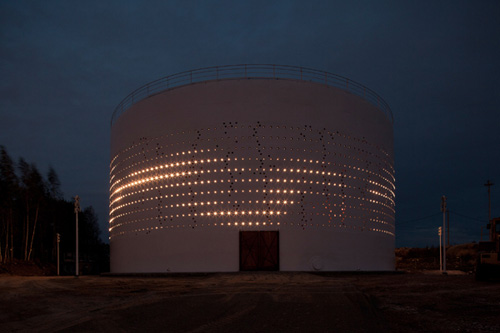 SILO 468: Interactive Light Art for Urban Redevelopment in technology main art architecture  Category