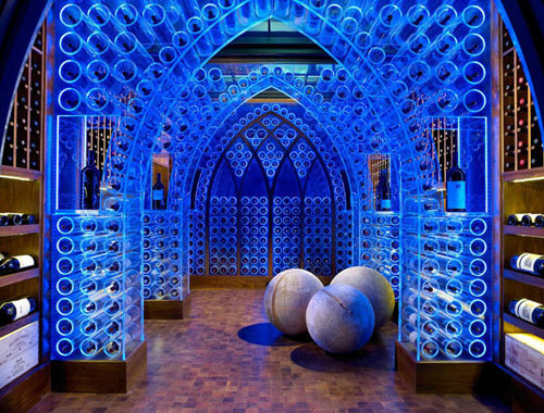 LED Wine Cellar by Jamie Beckwith