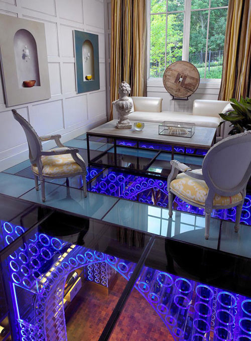 LED Wine Cellar by Jamie Beckwith in technology main interior design  Category