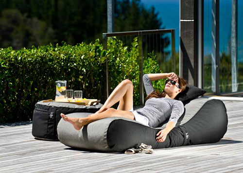 Remember How Comfortable Bean Bag Chairs Were When We Were Kids? Hereu0027s An  Adult Version For You To Relax On While Soaking Up Some Sun. Part 9