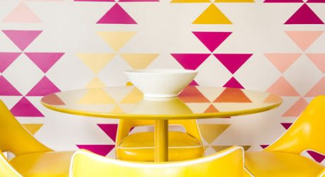 Removable Triangle Wall Decals by MUR