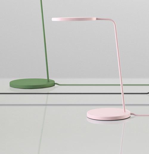 Leaf lamp by broberg ridderstråle for muuto design milk