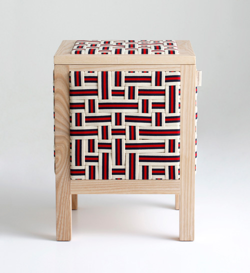 Furniture Covered in Elastic Bands Holds All Your Stuff in main home furnishings  Category