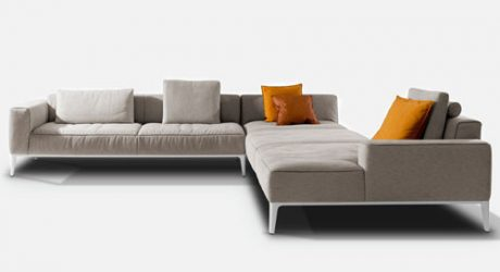 Tailor Made Modular Sofa by Studio Segers for Indera