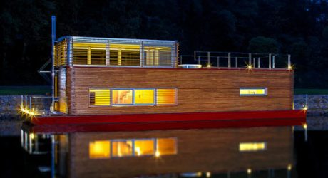 Thesayboat Modern Houseboat