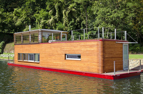 Thesayboat Modern Houseboat in architecture  Category
