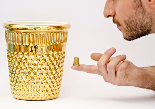 inDITO Oversized Thimble by Vito Nesta