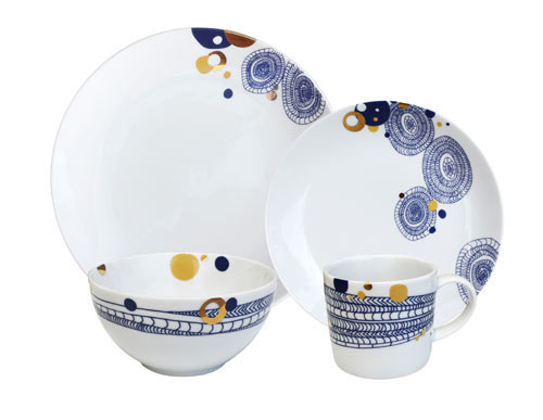 New Artist Dinnerware Sets for Ink Dish by Alyson Fox and Dana Oldfather in home furnishings art  Category