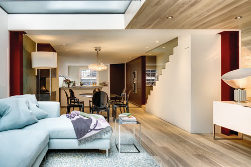 Maximizing Space in a Narrow Home by elips design