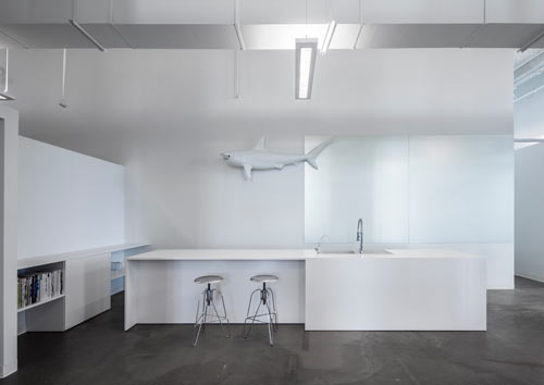 blue white office space. i blue white office space o