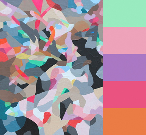 Kate Tucker's Abstract Paintings