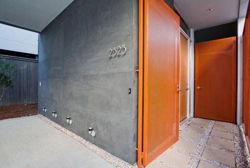 Dallas-based ... & Exterior Ideas: 12 Brightly Colored Front Doors - Design Milk