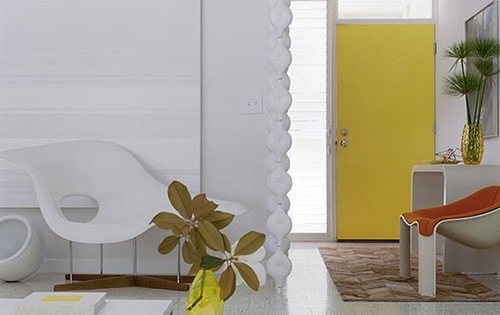 Interior ideas 12 colorful doors on the inside design milk - Jonquil yellow interior design ideas with surprising appeal ...