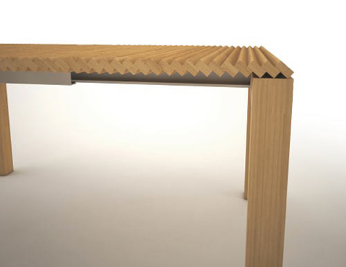 Extendable Table by Vidame Creation in home furnishings  Category