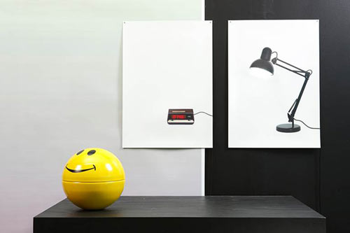 Flat Life Series: Clock and Light by Finn Magee for Areaware