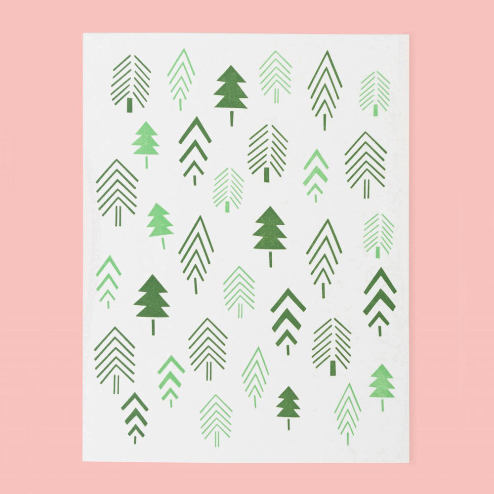 12 modern holiday cards design milk 12 modern holiday cards m4hsunfo