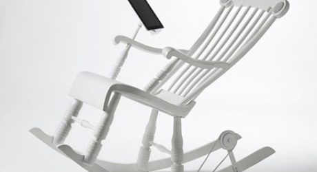 iRock: The World's First Power-Generating iPad Rocking Chair