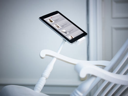 iRock: The Worlds First Power Generating iPad Rocking Chair in technology home furnishings Category