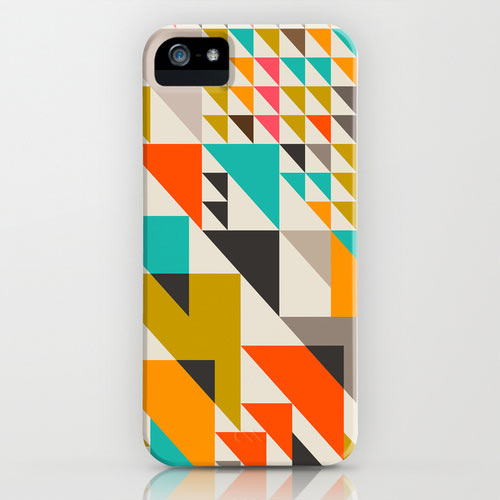Fresh From The Dairy Patterned Iphone 5 Cases