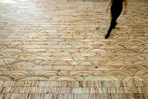 Marbelous Marble Wood Flooring by snedker°studio in interior design art  Category