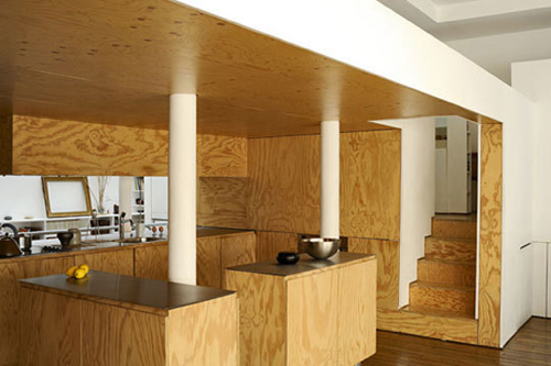 Pictures Of Plywood Interior Wall