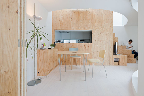 photo - Plywood Kitchen Decor