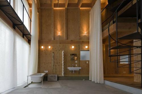 Add some warmth: 12 plywood interiors design milk