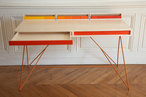 Subduction Desk by Paul Venaille in main home furnishings  Category