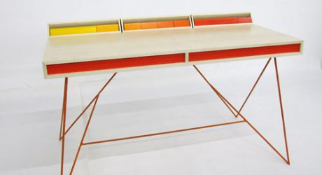 Subduction Desk by Paul Venaille