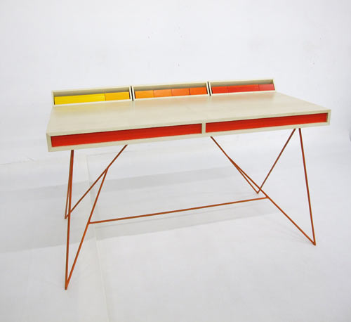 Subduction Desk by Paul Venaille