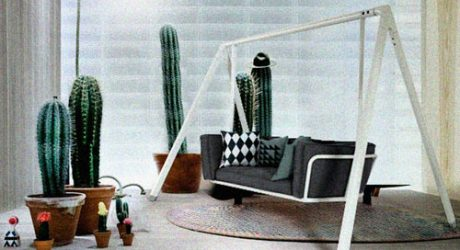 Swing Sofa by Studio Aisslinger for Vitra