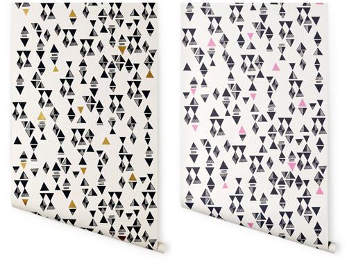 Lisa Congdon Designs Wallpaper for Hygge & West