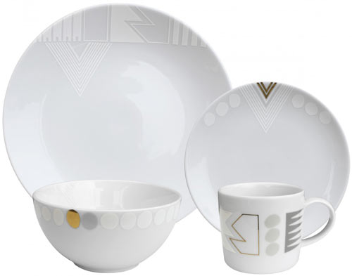 New Artist Dinnerware Sets for Ink Dish by Alyson Fox and Dana Oldfather
