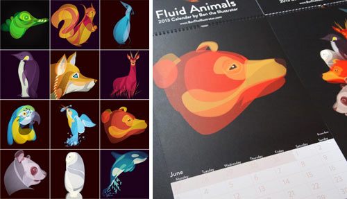 13Cal-Fluid-Animals