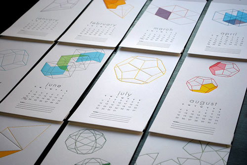 Best Calendar Design : The best modern calendars design milk
