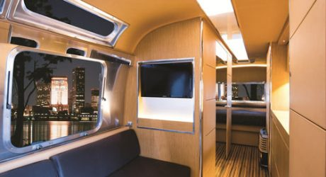 Land Yacht Concept Trailer by Airstream