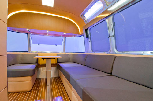 Land Yacht Concept Trailer by Airstream in technology interior design architecture  Category