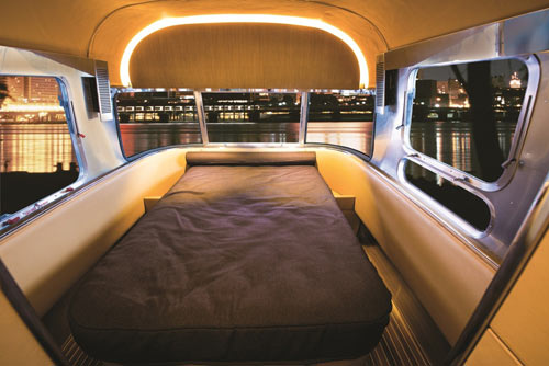 The interior reflects that of a multi-million-dollar yacht by incorporating  details that come in luxury watercraft. So now you can get the best of both  land ...