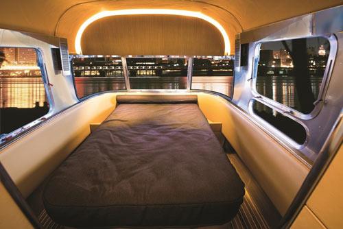 land yacht concept trailerairstream - design milk