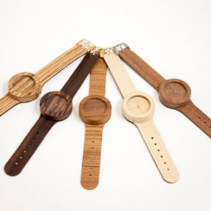 Analog Wood Watches by Lorenzo Buffa