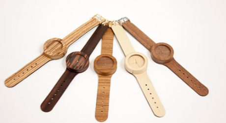 Analog Wood Watches by Lorenzo Buffa