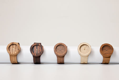 Analog Wood Watches By Lorenzo Buffa Design Milk