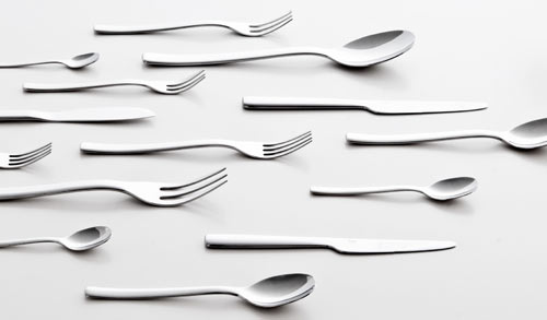 Ovale Flatware by Ronan and Erwan Bouroullec for Alessi