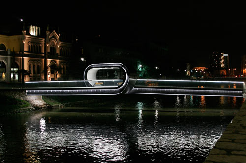 The Looping Festina Lente Bridge in main architecture  Category