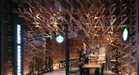 Not Your Average Starbucks by Kengo Kuma & Associates