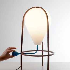 A Lamp That You Pump Up? Olab by Grégoire de Lafforest