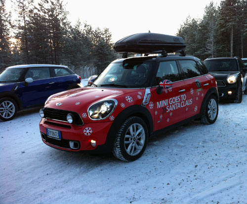 MINI Goes To Santa Claus (And So Did I!) in news events  Category