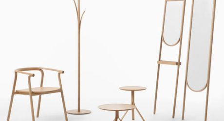 Furniture That Looks Like It's Peeling: Splinter by Nendo